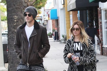 Ashley Tisdale Ashley Tisdale & Christopher French Out And About In Studio City