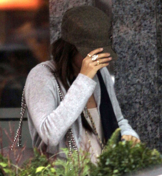 Ashley Tisdale Actress Ashley Tisdale and Lucas Grabeel out for lunch at the Italian Kitchen in Vancouver, Canada. Ashley tried to hide her face all day especially when she was spotted with Lucas at lunch. After lunch they hugged and went their seperate ways.