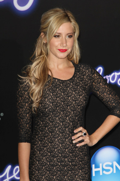 "Ashley Tisdale Celebrities attend the ""Footloose"" Los Angeles premiere at the Regency Village Theatre in Westwood."