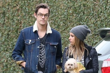 Ashley Tisdale Ashley Tisdale & Husband Out For A Stroll