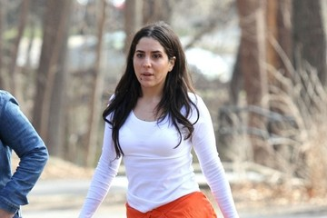 Audrey Esparza Ronda Rousey Films 'Blindspot' in NYC