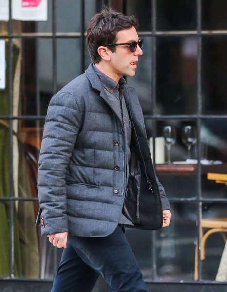 B.J. Novak Out And About In NYC
