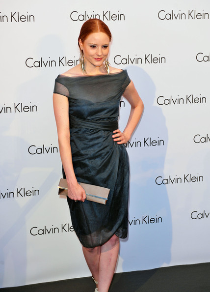 Celebrities Arriving At Calvin Klein Fashion Show During MBFW
