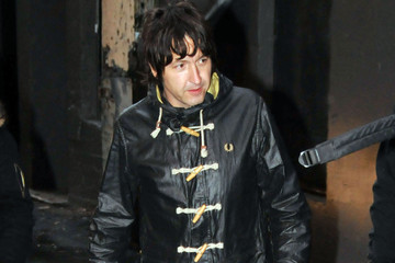 Gem Archer Beady Eye Arriving For Sound Check In Vancouver