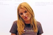 Bella Thorne Works A Shift At Sprinkles Cupcakes