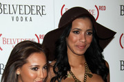 Celebrities attend the Belvedere Red launch party at Avalon Theatre in Hollywood.