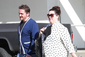 Ben Falcone Melissa McCarthy & Ben Falcone Shopping In Toluca Lake