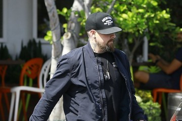 Benji Madden Benji Madden Has Lunch At Fred Segal In WeHo