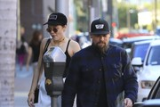 Benji Madden And Jessie J are spotted leaving a medical building in Beverly Hills, California on October 20, 2016. Benji and his brother Joel are Jessie J's managers.