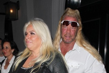Beth Chapman Celebrities Dine Out at Craig's Restaurant