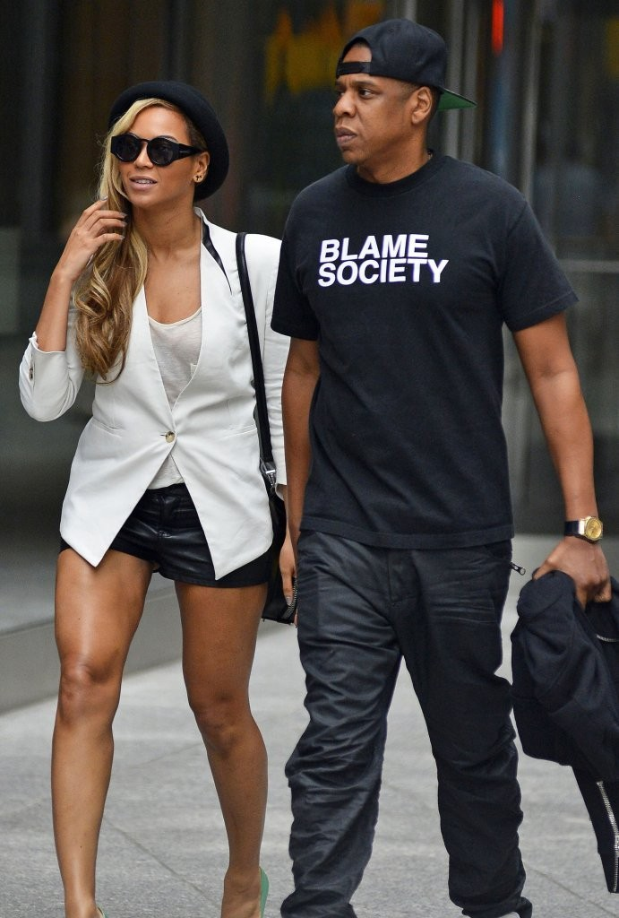 Beyonce Knowles - Beyonce & Jay-Z On A Date Night In New York