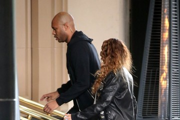 Beyonce Knowles Jay Z and Beyonce Take Blue Ivy Shopping