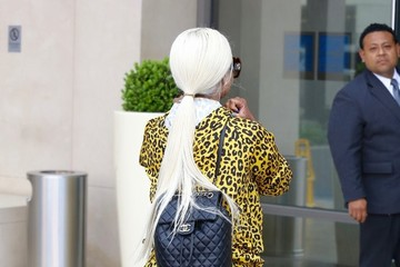 Blac Chyna Blac Chyna Heads Spotted Out  In Beverly Hills