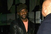 Blair Underwood Gets Dinner at Mr Chow
