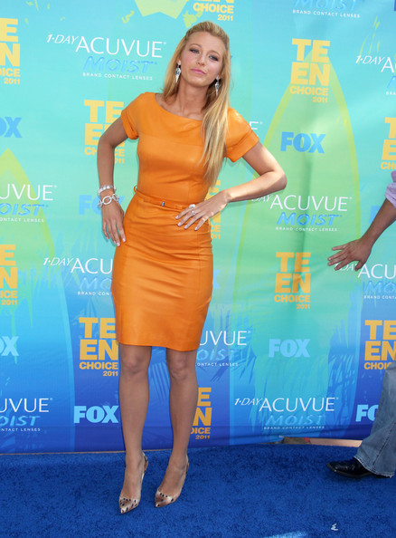 Blake Lively Photos Photos: Teen Choice Awards 2011