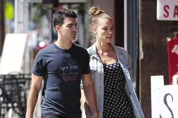 Blanda Eggenschwiler Joe Jonas and Blanda Eggenschwiler Do Lunch