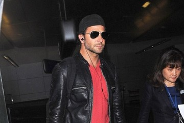 Bradley Cooper Bradley Cooper Touches Down at LAX