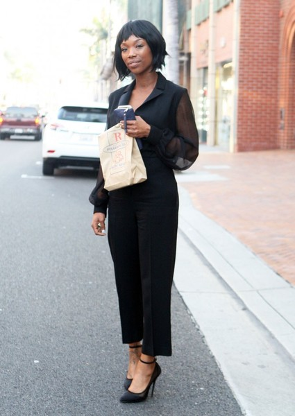 Brandy Norwood Is All Smiles In Beverly Hills