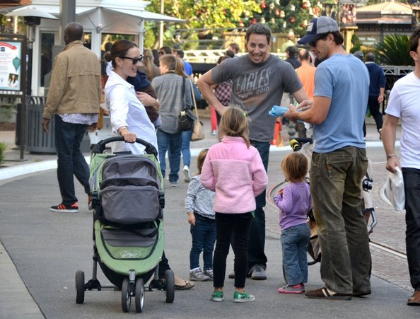 Bree Turner Takes Her Family Shopping At The Grove