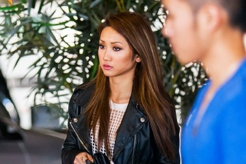 Brenda Song Brenda Song Goes Shopping With Her Family