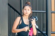 Brenda Song Stops By A Gym In Studio City