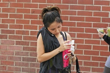 Brenda Song Brenda Song Leaves the Gym