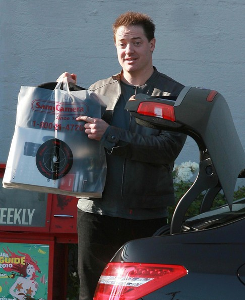 Brendan Fraser in Brendan Fraser Out Shopping At Samy's Camera ...
