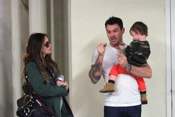 Brian Austin Green Megan Fox Visits Her Doctor in Beverly Hills