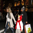 Leighanne Littrell Brian Littrell & Family Christmas Shopping At The Grove