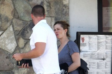 Brian Teefey Selena Gomez Out For Lunch With Her Family