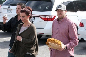 Britney Spears David Lucado Britney Spears & David Lucado Out For Lunch At Freebirds