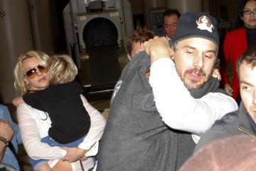 Britney Spears Jason Trawick Britney Spears And Jason Trawick Arriving On A Flight At LAX