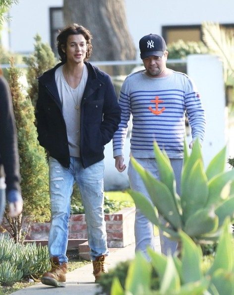 Bronson Pelletier 'Twilight' actor Bronson Pelletier grabs lunch with a friend at Le Conversation restaurant in West Hollywood, California on December 18th, 2012. The young actor was recently arrested for cocaine and meth possesion and was ordered to appear in court January 17th.