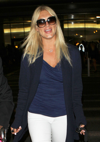 Brooke Hogan - Brooke Hogan Arriving At LAX Airport