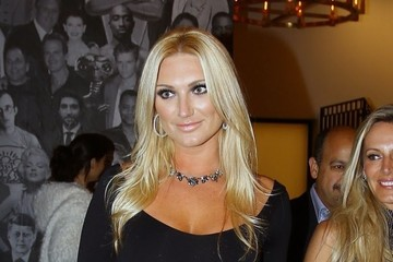 Brooke Hogan Celebrities Go Out at Catch Restaurant