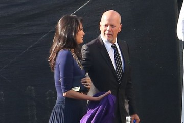 Bruce Willis Celebs at the 'Dancing With the Stars' Studio