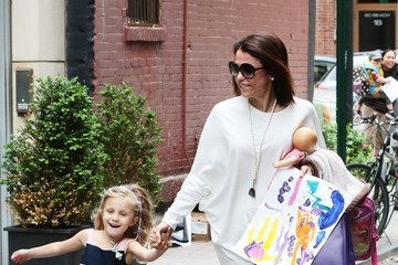 Bryn Hoppy Bethenny Frankel in NYC With Her Daughter