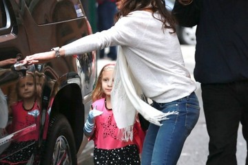 Bryn Hoppy Bethenny Frankel Out and About in NYC