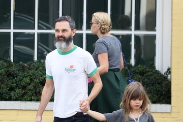 Busy Philipps Marc Silverstein Busy Philipps Spends the Day with Family