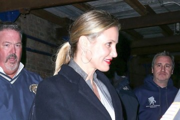 Cameron Diaz Cameron Diaz Spends Time in NYC
