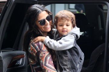 Camila Alves Livingston McConaughey Camila Alves Goes Out in NYC With Her Son