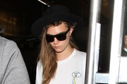Cara Delevingne Spotted at the Airport