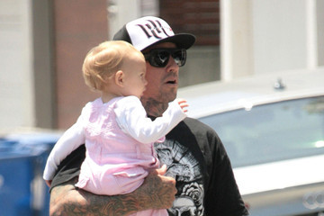 Carey Hart Carey Hart And Willow Returning Home On Her Birthday