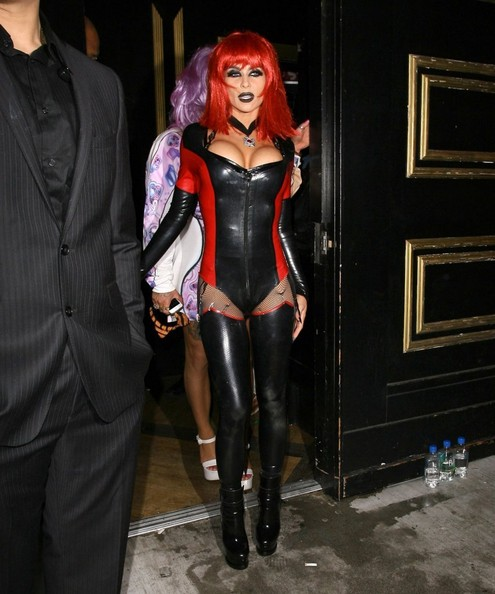 Celebs Dress Up for Halloween at Bootsy Bellows  sc 1 st  Zimbio & Carmen Electra Photos Photos - Celebs Dress Up for Halloween at ...