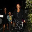 Carmen Milian Celebrities Enjoy a Night Out at Roku