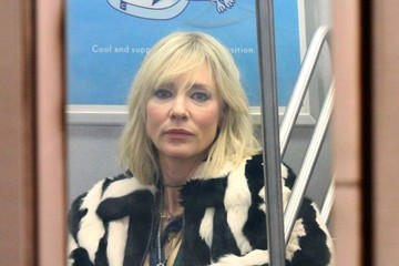Cate Blanchett 'Oceans Eight' Films in the New York Subways