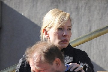 Cate Blanchett Andrew Upton Funeral Service Held for Philip Seymour Hoffman