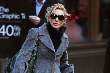 Roman Upton Cate Blanchett And Children Out In New York City