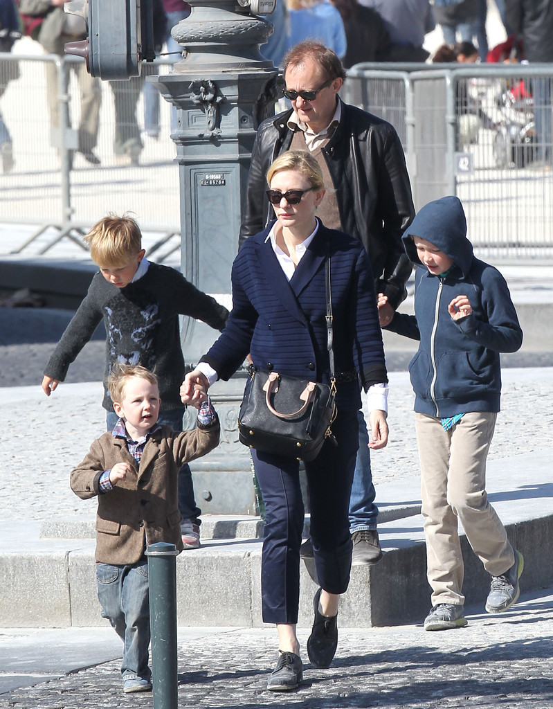 Cate Blanchett And Sons