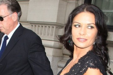 Catherine Zeta Jones Catherine Zeta-Jones Steps Out in NYC